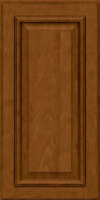 Square Raised Panel - Solid (GRM) Maple in Rye w/Sable Glaze - Wall