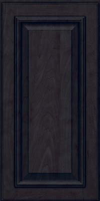 Square Raised Panel - Solid (GRM) Maple in Slate - Wall