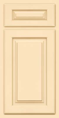 Arch Raised Panel - Solid (TWAM) Maple in Biscotti - Base