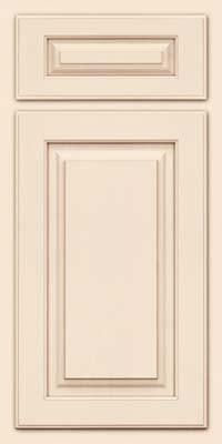 Arch Raised Panel - Solid (TWAM) Maple in Canvas w/Cocoa Glaze - Base