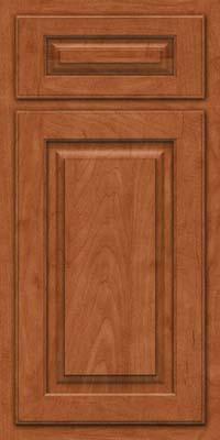 Arch Raised Panel - Solid (TWAM) Maple in Cinnamon - Base