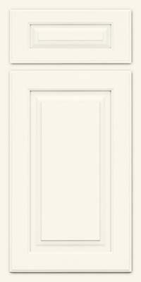 Arch Raised Panel - Solid (TWAM) Maple in Dove White - Base