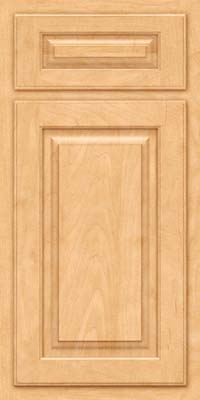 Arch Raised Panel - Solid (TWAM) Maple in Honey Spice - Base