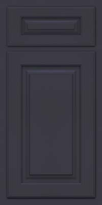 Arch Raised Panel - Solid (TWAM) Maple in Midnight - Base