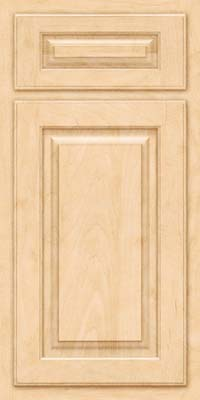 Arch Raised Panel - Solid (TWAM) Maple in Natural - Base