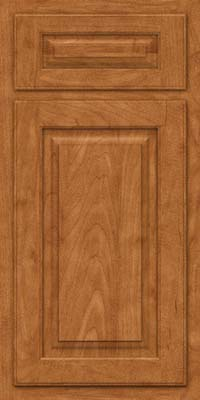 Arch Raised Panel - Solid (TWAM) Maple in Praline - Base