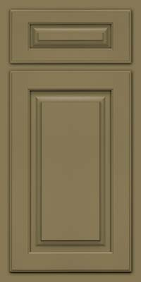Arch Raised Panel - Solid (TWAM) Maple in Sage - Base