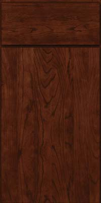 Slab - Solid (AW) Cherry in Kaffe - Base