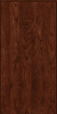 Slab - Solid (AW) Cherry in Kaffe - Wall