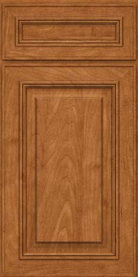 Square Raised Panel - Solid (AA0M) Maple in Praline - Base