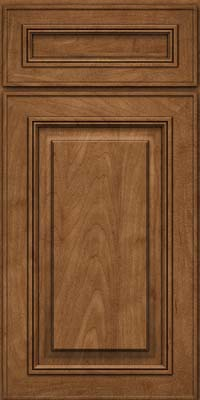 Square Raised Panel - Solid (AA0M) Maple in Rye - Base
