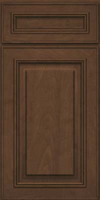Square Raised Panel - Solid (AA0M) Maple in Saddle Suede - Base