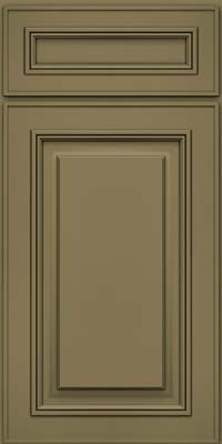 Square Raised Panel - Solid (AA0M) Maple in Sage - Base