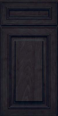 Square Raised Panel - Solid (AA0M) Maple in Slate - Base