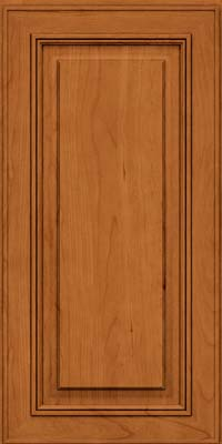 Square Raised Panel - Solid (AA0C) Cherry in Honey Spice - Wall