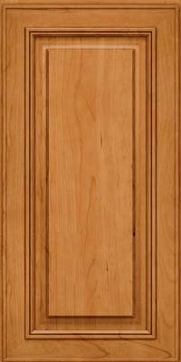 Square Raised Panel - Solid (AA0C) Cherry in Natural - Wall