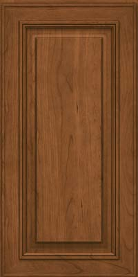 Square Raised Panel - Solid (AA0C) Cherry in Rye - Wall