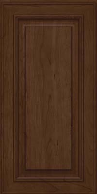 Square Raised Panel - Solid (AA0C) Cherry in Saddle - Wall