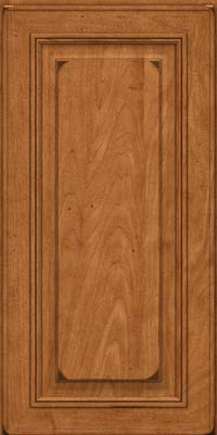 Square Raised Panel - Solid (AA0M) Maple in Burnished Praline - Wall