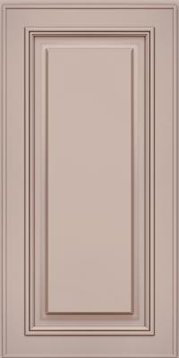 Square Raised Panel - Solid (AA0M1) Maple in Chai w/Cocoa Glaze - Wall