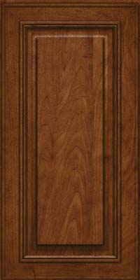 Square Raised Panel - Solid (AA0M) Maple in Cognac - Wall