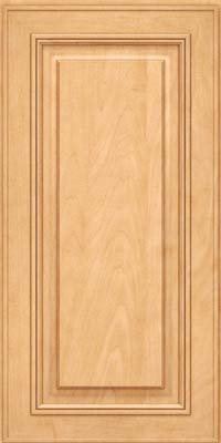 Square Raised Panel - Solid (AA0M) Maple in Honey Spice - Wall
