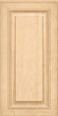 Square Raised Panel - Solid (AA0M) Maple in Natural - Wall