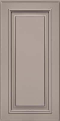 Square Raised Panel - Solid (AA0M) Maple in Pebble Grey - Wall