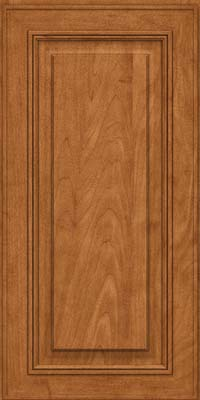 Square Raised Panel - Solid (AA0M) Maple in Praline - Wall