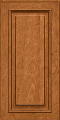 Square Raised Panel - Solid (AA0M) Maple in Praline w/Mocha Highlight - Wall