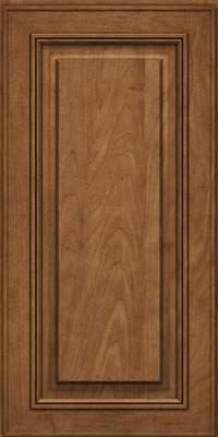 Square Raised Panel - Solid (AA0M) Maple in Rye - Wall