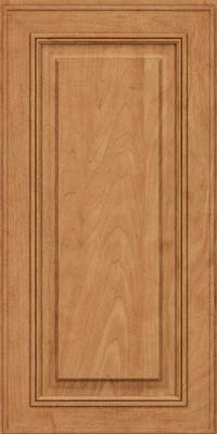 Square Raised Panel - Solid (AA0M) Maple in Toffee - Wall
