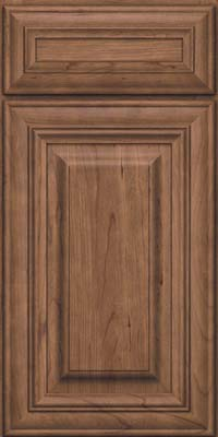 Square Raised Panel - Solid (AA1C) Cherry in Husk - Base