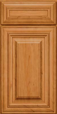 Square Raised Panel - Solid (AA1C) Cherry in Natural - Base