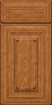 Square Raised Panel - Solid (AA1M) Maple in Burnished Praline - Base