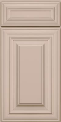 Square Raised Panel - Solid (AA1M1) Maple in Chai - Base