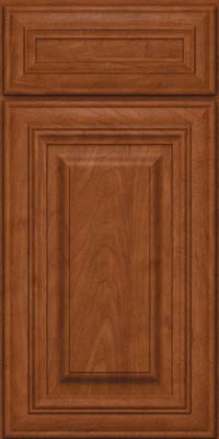 Square Raised Panel - Solid (AA1M) Maple in Chestnut - Base