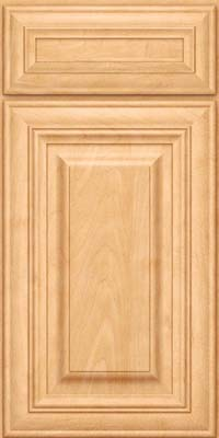 Square Raised Panel - Solid (AA1M) Maple in Honey Spice - Base