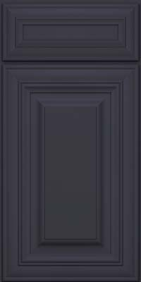 Square Raised Panel - Solid (AA1M) Maple in Midnight - Base