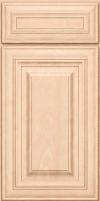 Square Raised Panel - Solid (AA1M) Maple in Parchment - Base