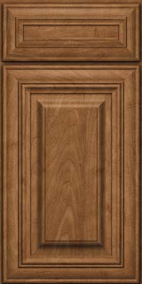 Square Raised Panel - Solid (AA1M) Maple in Rye - Base