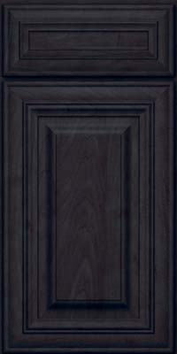 Square Raised Panel - Solid (AA1M) Maple in Slate - Base