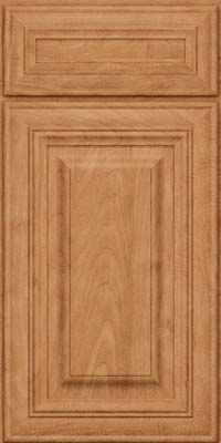 Square Raised Panel - Solid (AA1M) Maple in Toffee - Base