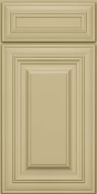 Square Raised Panel - Solid (AA1M) Maple in Willow - Base
