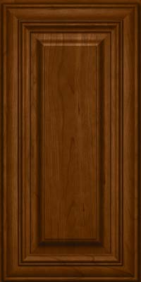 Square Raised Panel - Solid (AA1C) Cherry in Chocolate - Wall