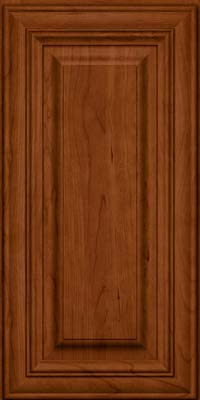 Square Raised Panel - Solid (AA1C) Cherry in Cinnamon - Wall