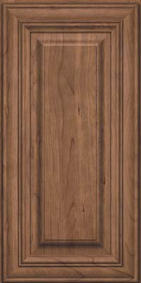 Square Raised Panel - Solid (AA1C) Cherry in Husk - Wall
