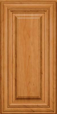 Square Raised Panel - Solid (AA1C) Cherry in Natural - Wall