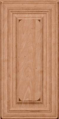 Square Raised Panel - Solid (AA1M) Maple in Burnished Ginger - Wall