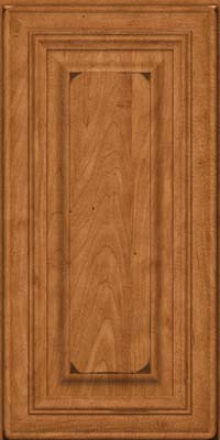 Square Raised Panel - Solid (AA1M) Maple in Burnished Praline - Wall